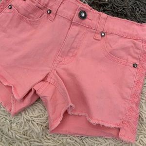 Vigoss Girls Frayed Hem Shorts size 8